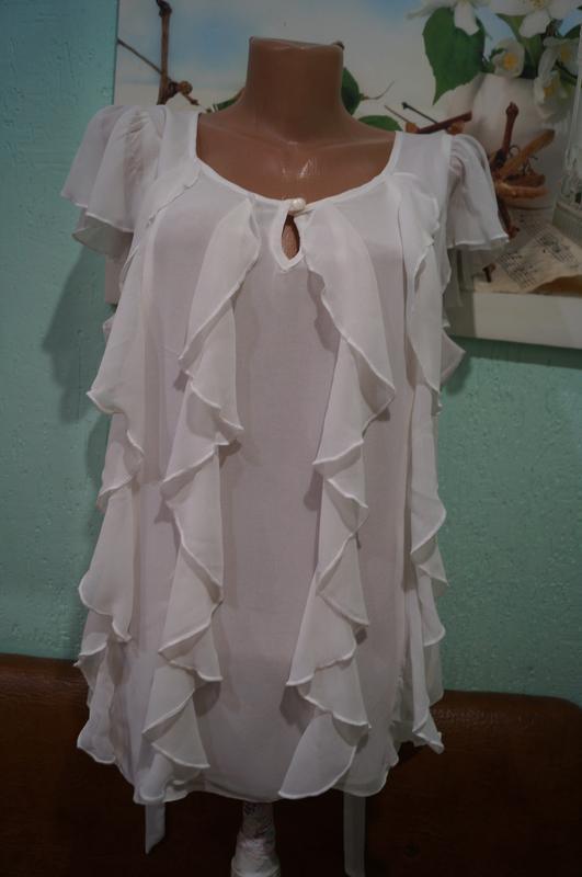 Блуза р.44,бренд tu - Фото 4
