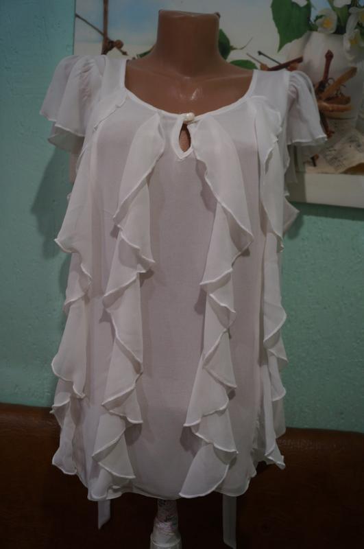 Блуза р.44,бренд tu - Фото 6