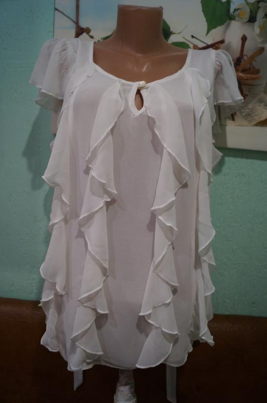 Блуза р.44,бренд tu - Фото 9