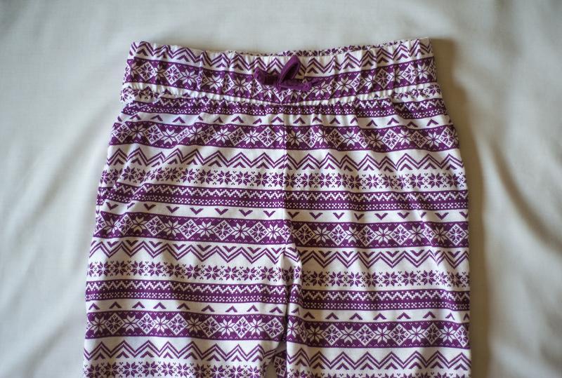 Красивенные пижамные белые штаны с принтом new look, размер s - Фото 3