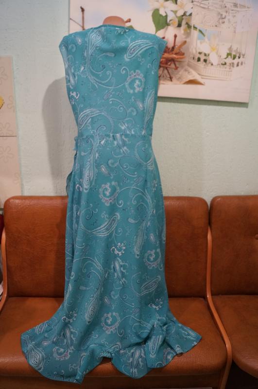 Платье макси р.16 - Фото 2