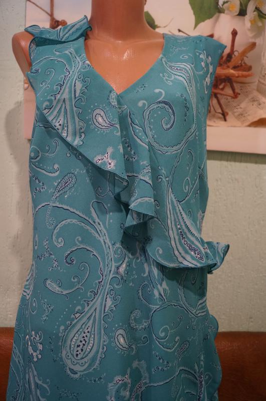 Платье макси р.16 - Фото 6