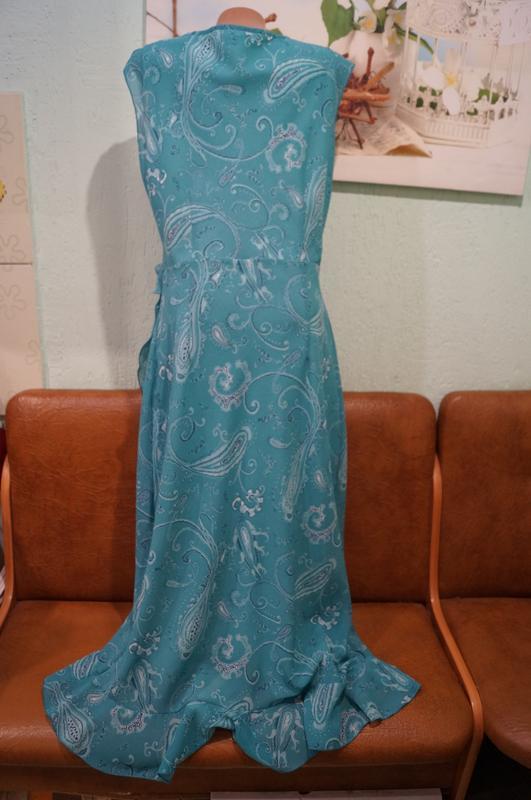 Платье макси р.16 - Фото 9