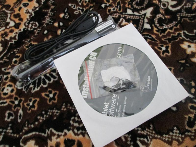Графический планшет Parblo A610 - Фото 4