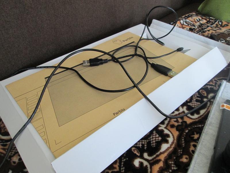 Графический планшет Parblo A610 - Фото 5