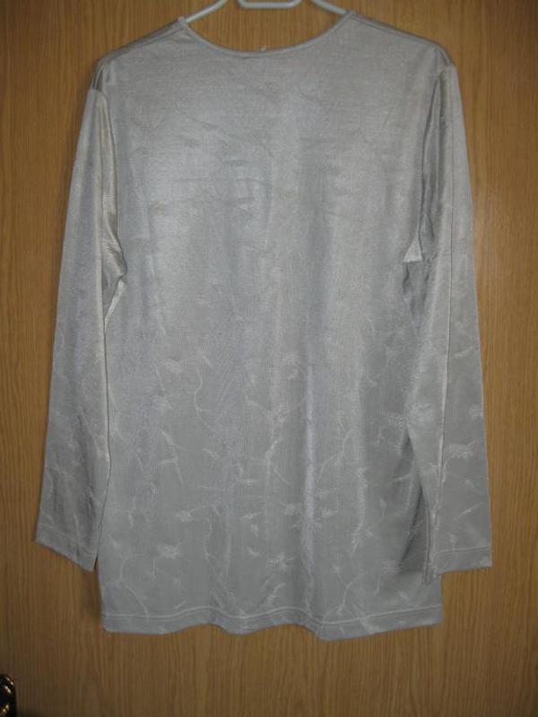 """Новая серая стрейч. блузка """"marcona"""" р. 52 - Фото 2"""