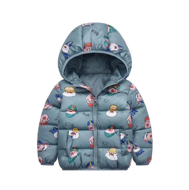 Детская курточка с капюшоном демисезонная, 1-2 года, новая