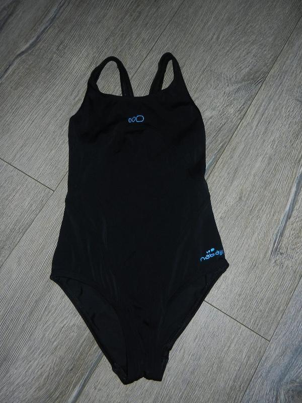 *nabaiji*франция!черный купальник для плавания,для бассейна 12...