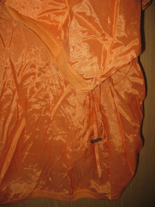 """Новая оранжевая блузка """"cassiopeia"""" р. xl - Фото 3"""
