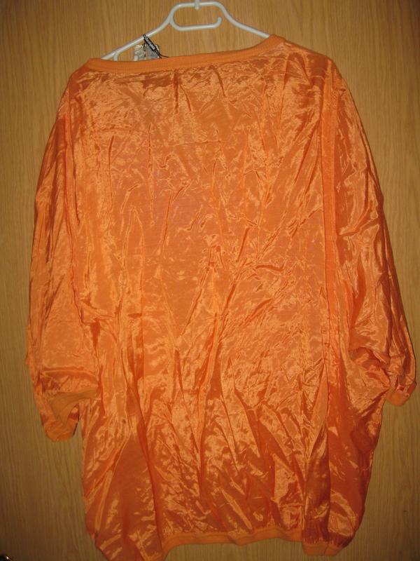 """Новая оранжевая блузка """"cassiopeia"""" р. xl - Фото 6"""