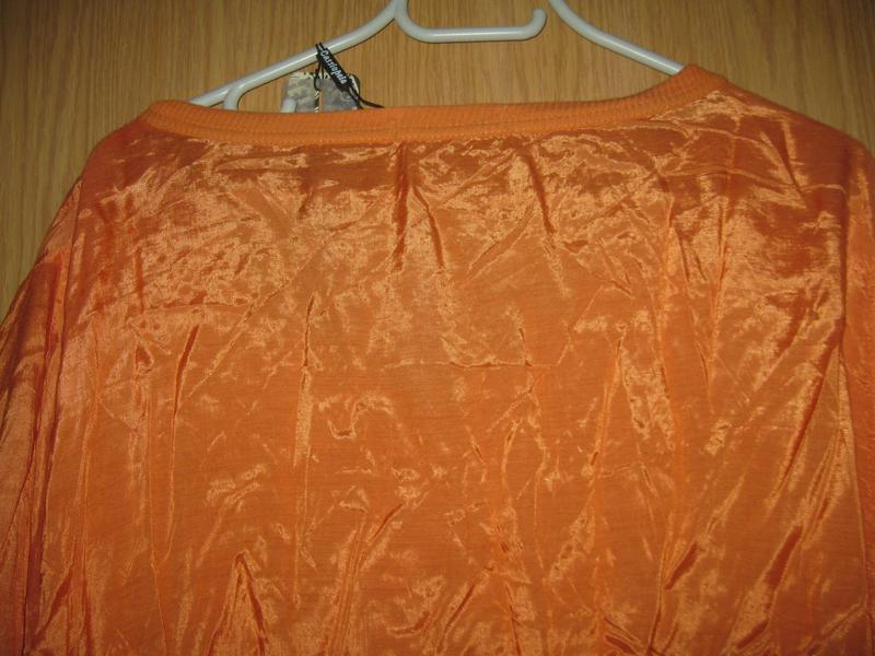 """Новая оранжевая блузка """"cassiopeia"""" р. xl - Фото 7"""