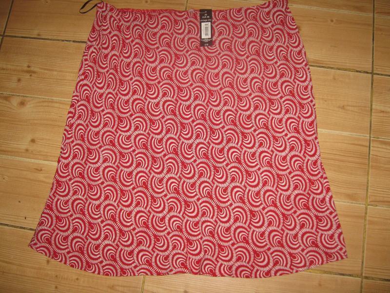 """Новая легкая летняя юбка """"bhs"""" р. 54 пояс- резинка - Фото 2"""