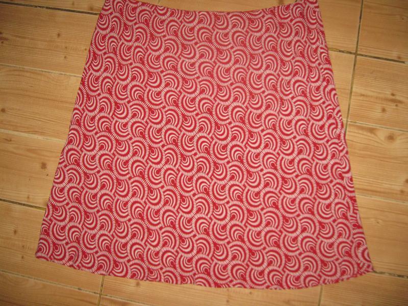 """Новая легкая летняя юбка """"bhs"""" р. 54 пояс- резинка - Фото 6"""