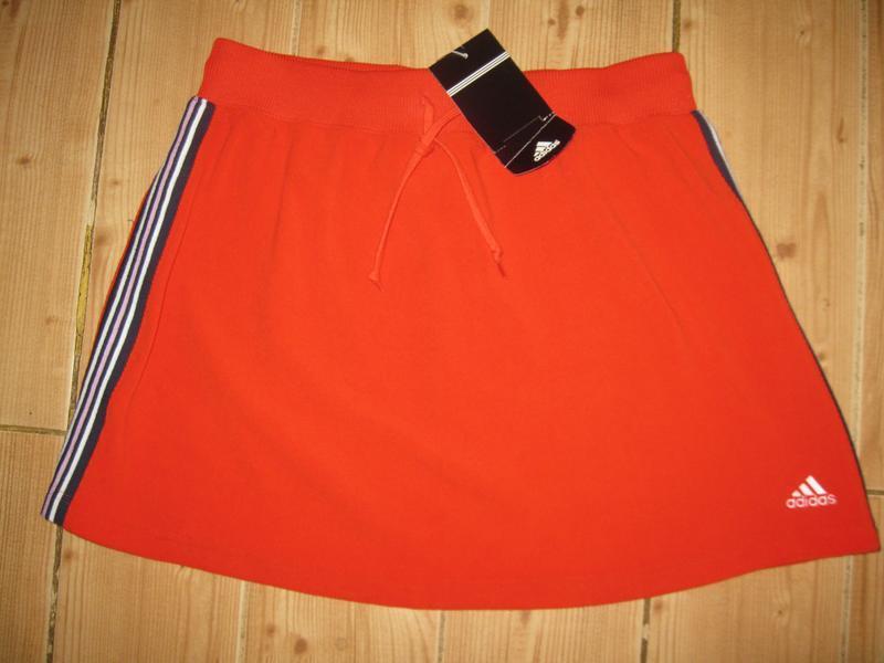 """Новая стрейч. юбка """"adidas"""" р. 48 пояс-резинка"""