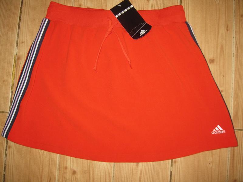 """Новая стрейч. юбка """"adidas"""" р. 48 пояс-резинка - Фото 3"""