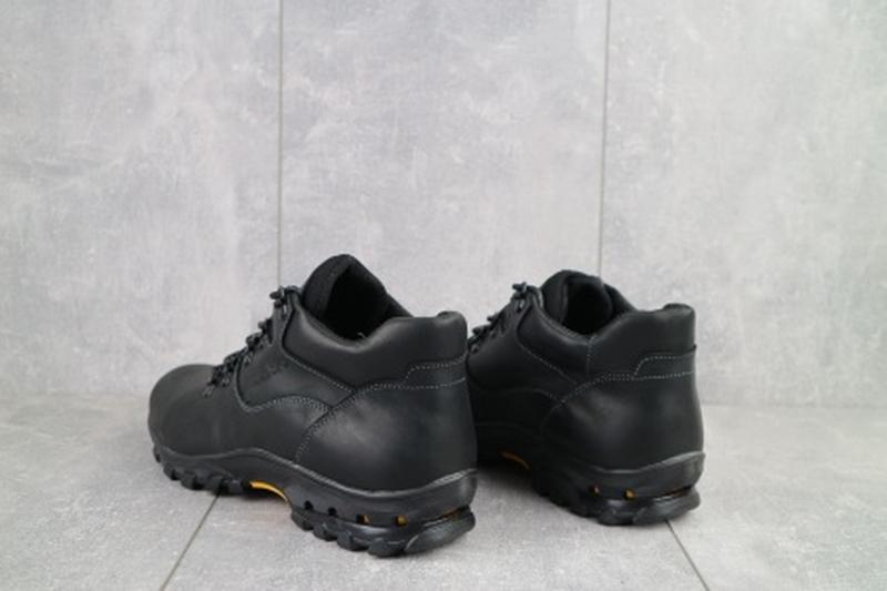 Мужские зимние ботинки из натуральной кожи yuves 501 - Фото 5