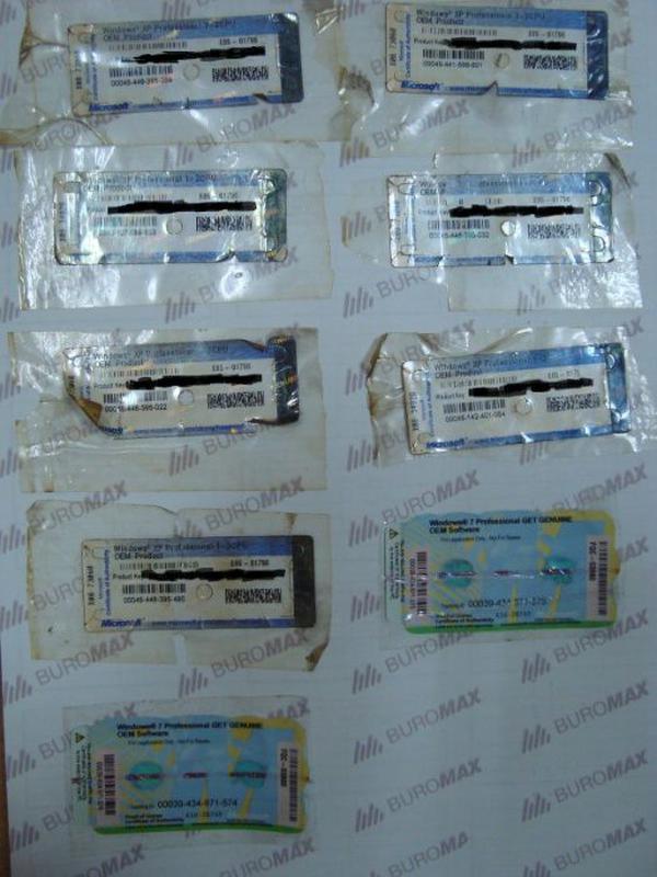 Лицензионные наклейки Windows