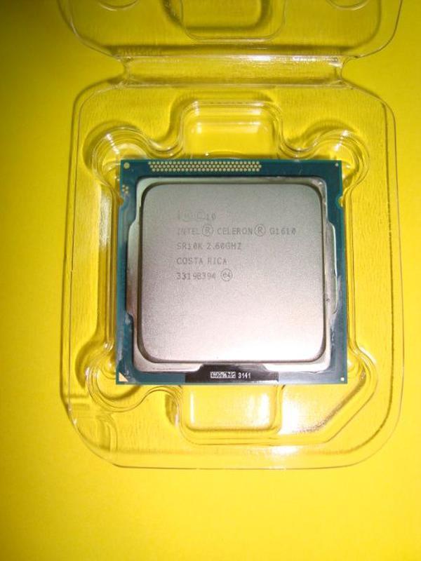 Процессор 1155 G1610 2-а 2,6Gz встроенная графика