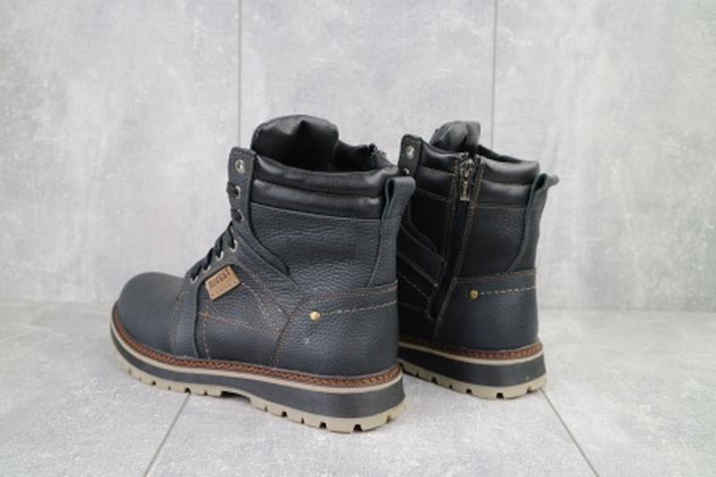 Мужские зимние ботинки из натуральной кожи rivest 30 - Фото 5