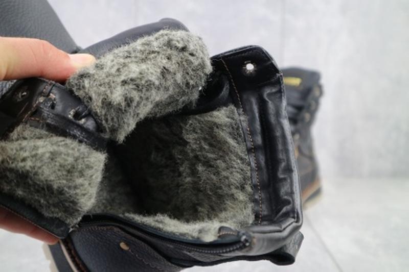 Мужские зимние ботинки из натуральной кожи rivest 30 - Фото 6