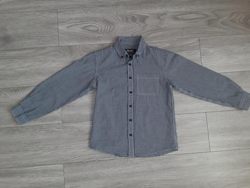 Рубашка в клеточку rebel by primark