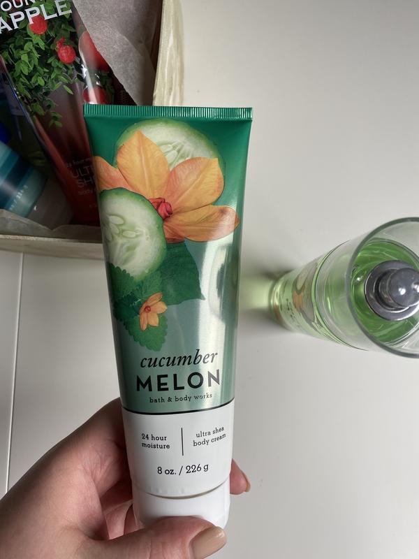 Лосьон крем для тела с маслом ши bath and body works cucumber ...