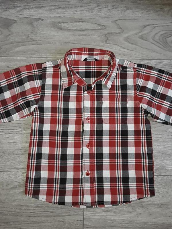 Клетчастая рубашка george на рост 98-104см, 3-4 года