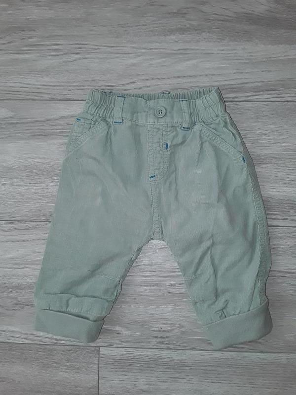 Штаны, вельветовые штаны next 3-6 месяцев