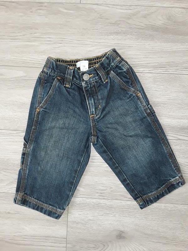 Фирменные джинсы на мальчика 12-18 месяцев