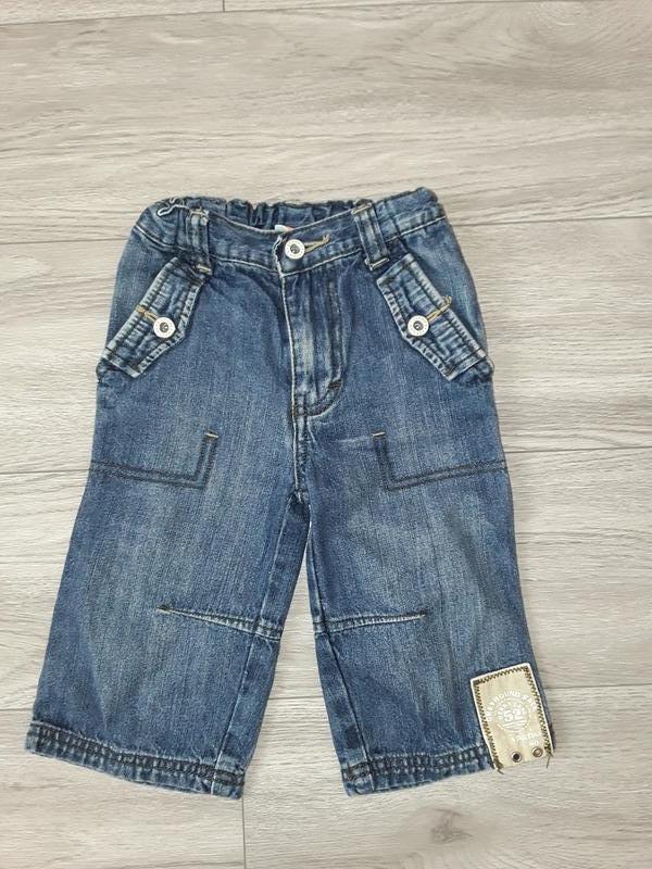 Джинсы, штаны на рост 80см, 9-12 месяцев