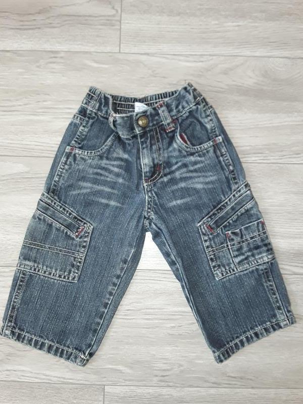 Штаны, джинсы old navy на 12-18 месяцев