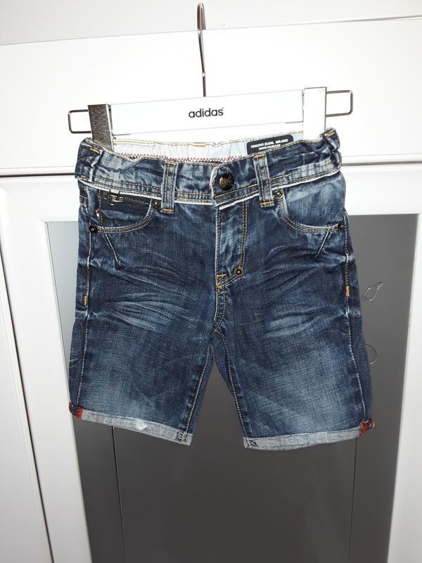 Джинсовые шорты, бриджи
