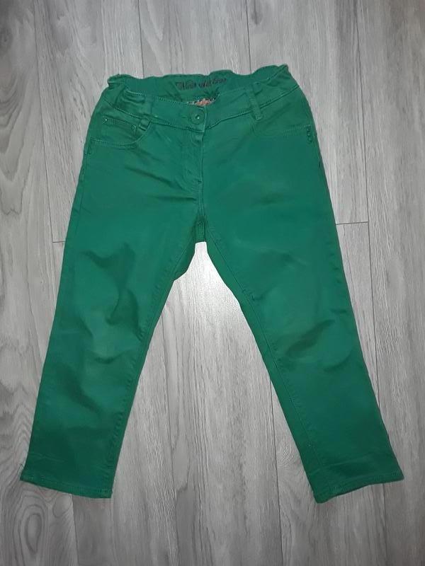 Зелёные брюки, джинсы