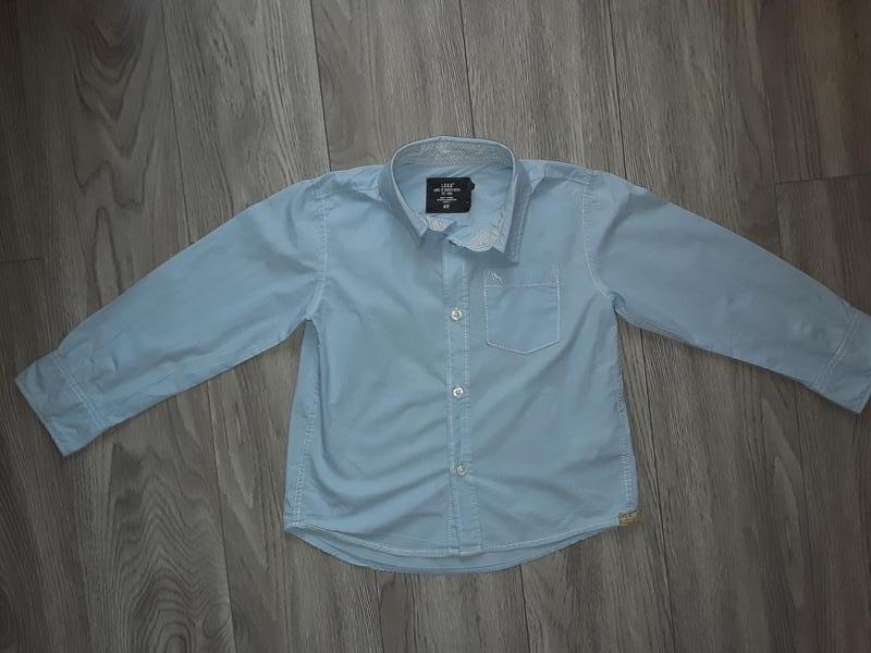 Голубая рубашка мальчику