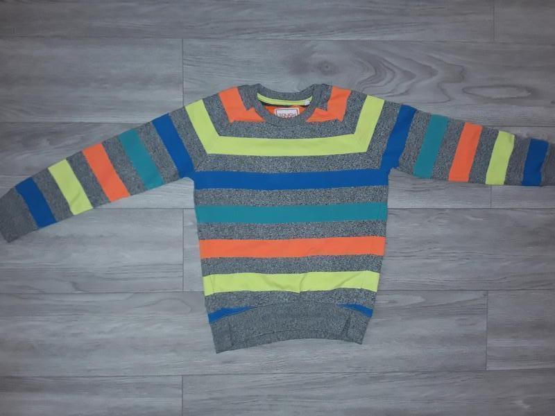 Полосатая кофта, джемпер, свитер