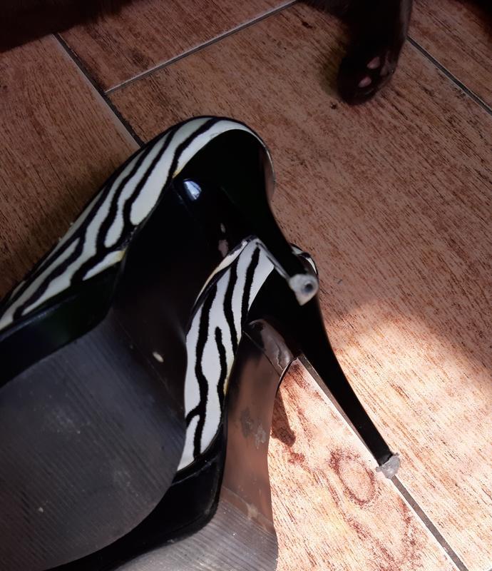 Туфельки зебра с открытым пальчиком 😋😍 - Фото 5