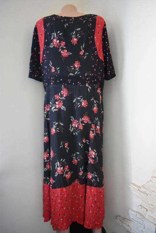 Красивое платье с принтом большого размера monsoon - Фото 3