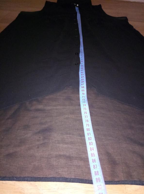 Подарок при покупке 2-х вещей.шифоновая блузка рубашка безрукавка - Фото 5
