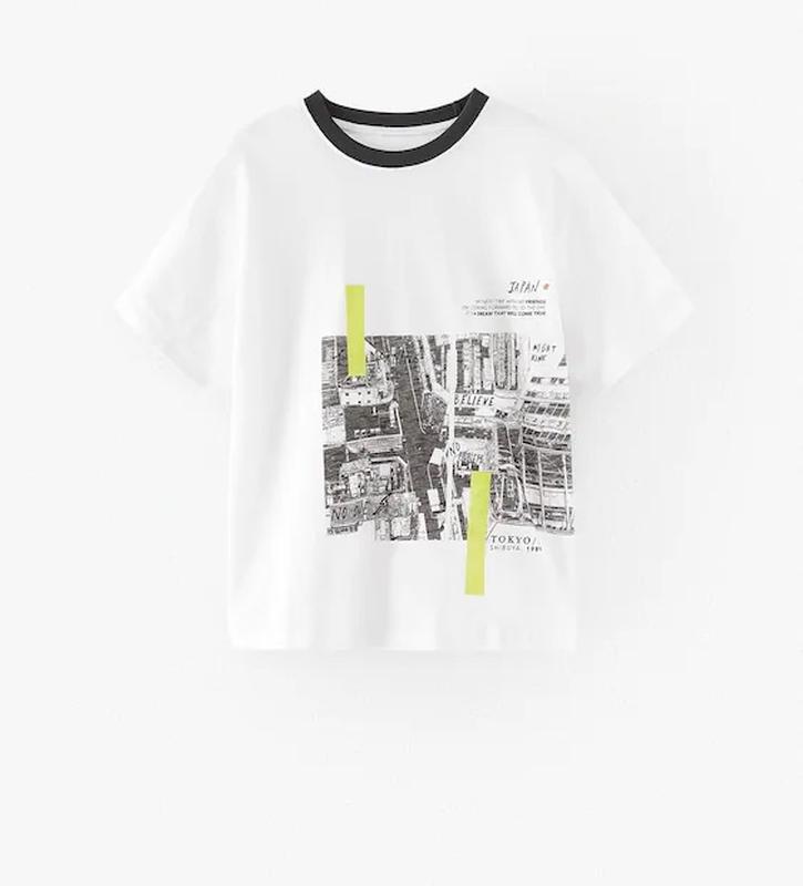 Zara футболка для мальчика 7лет 8лет