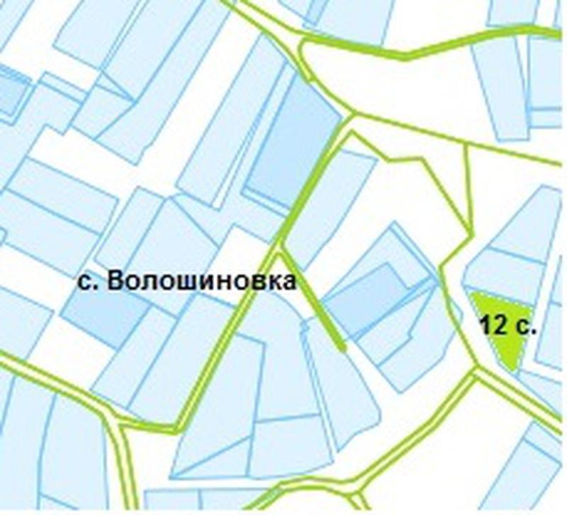 Земельный участок 12 соток в с. Волошиновка - Фото 4