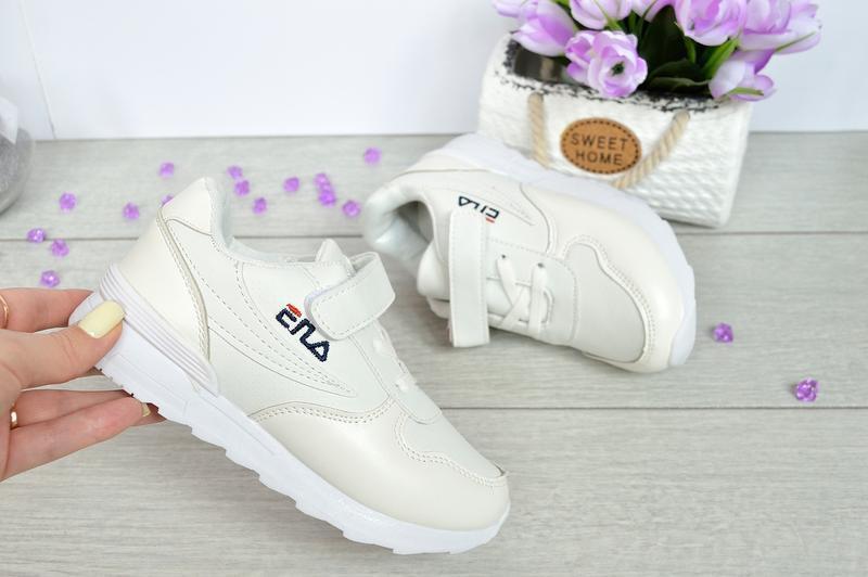 Супер модные белые кроссовки