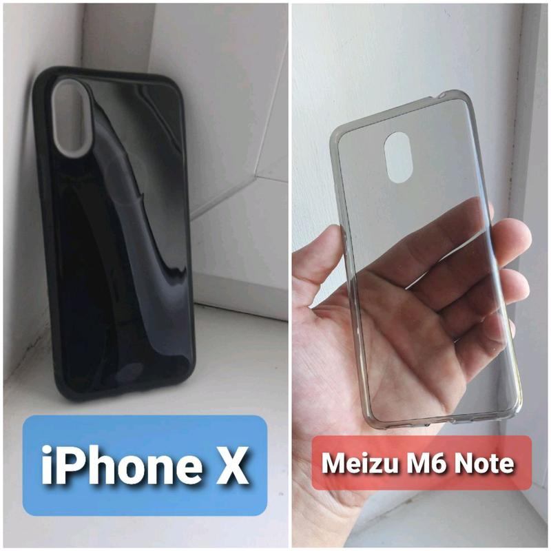 Накладки Iphone X / Meizu M6 Note