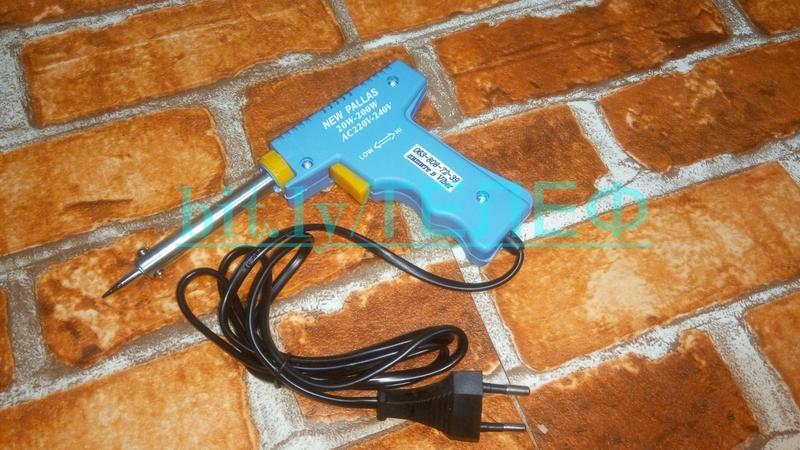 Электрический паяльник-пистолет Импульсный паяльник HS-400 20Вт- - Фото 5