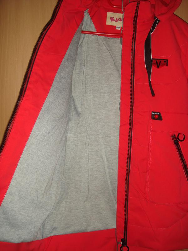 Демисезонная куртка на рост 128\134 см - Фото 4