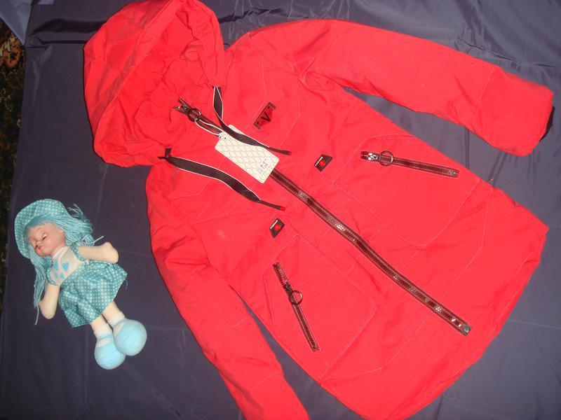 Демисезонная куртка на рост 128\134 см - Фото 5