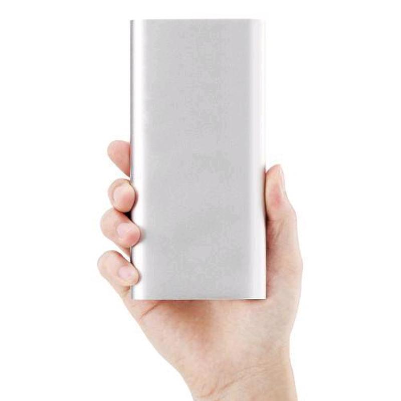 Повер банк Xiaomi 20800 mAh Power Bank Внешний Аккумулятор СЕРЕБР - Фото 2