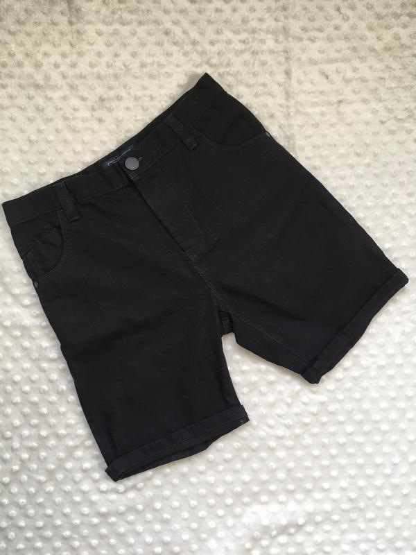 Джинсовые шорты next, чёрные шорты