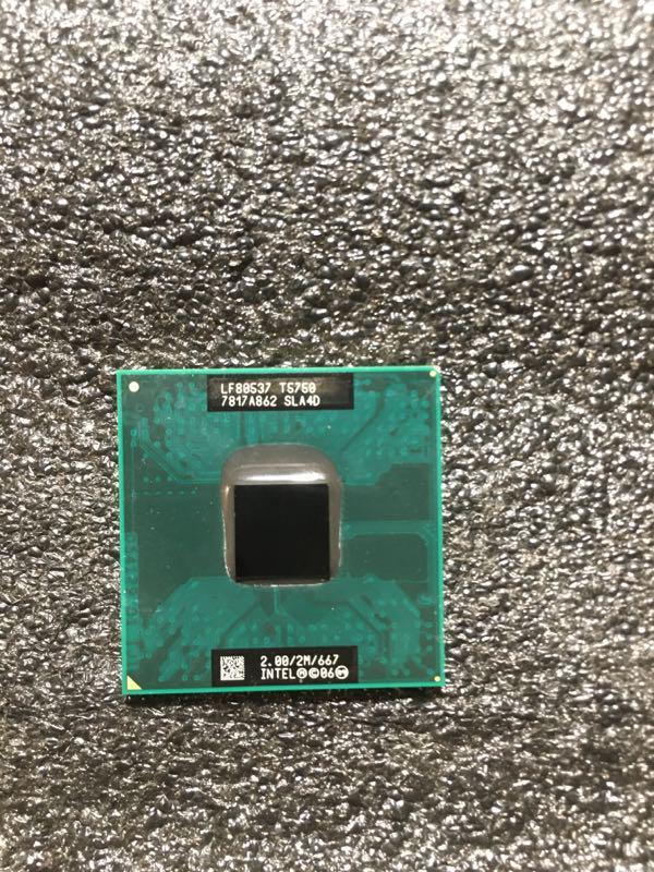 Core 2 duo t5750