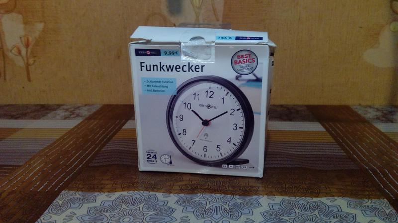 Часы-будильник Ideen Welt P8-RM-RCC