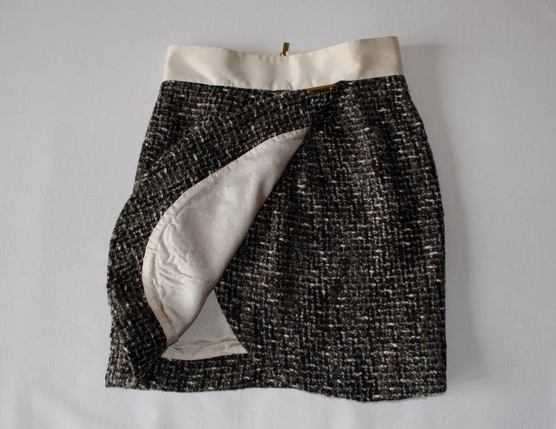 Шикарная шерстяная юбка люксового бренда elisabetta franchi ит... - Фото 3